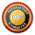 100% Satisfaction Guarantee with Soapy Suds